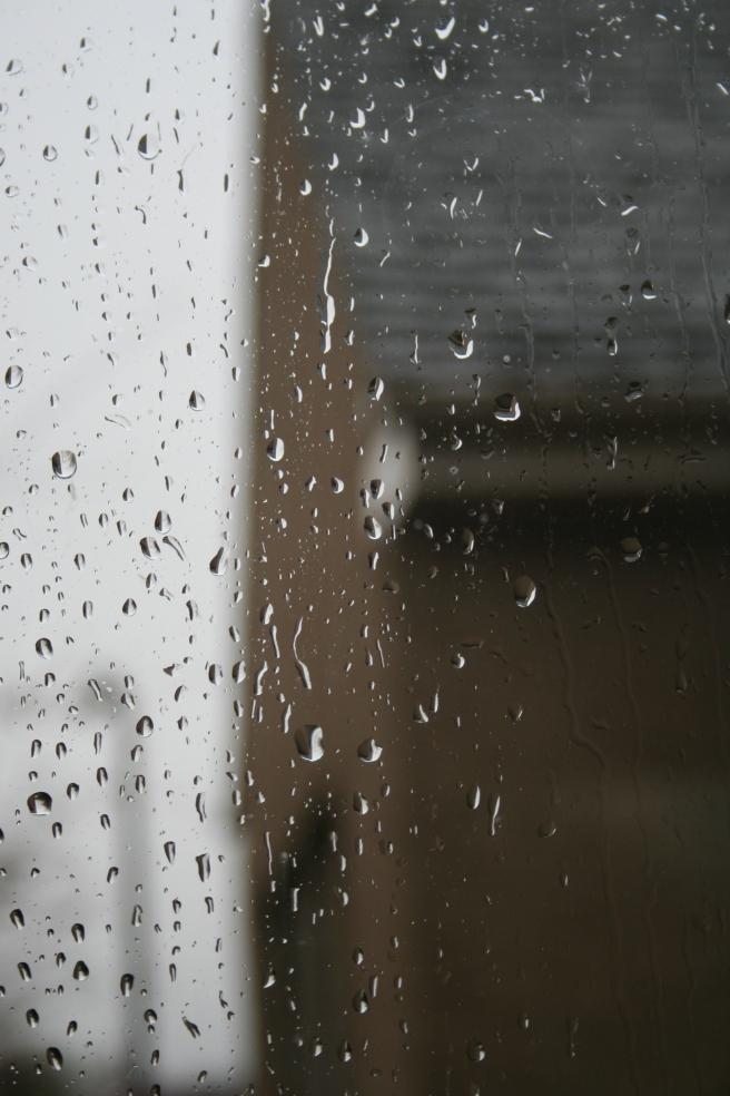 rain rain go away...