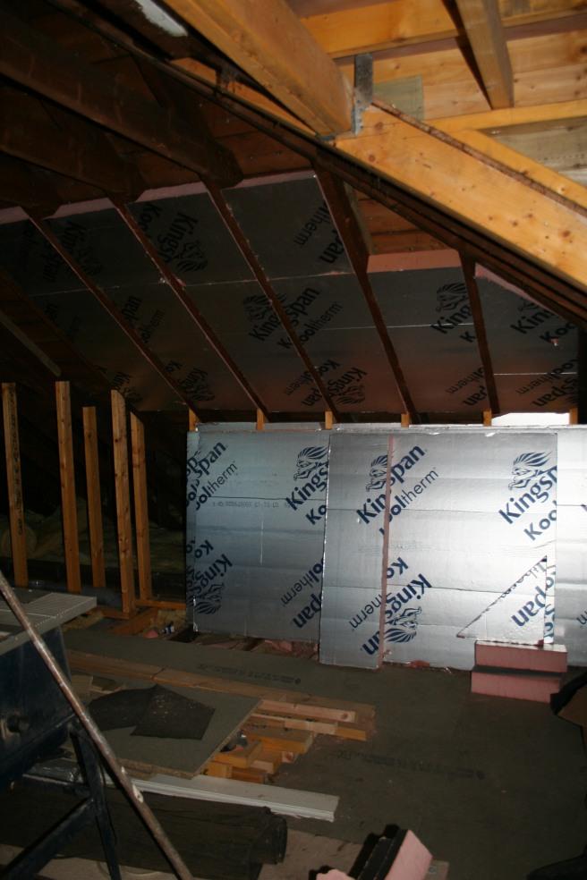 insulation starts