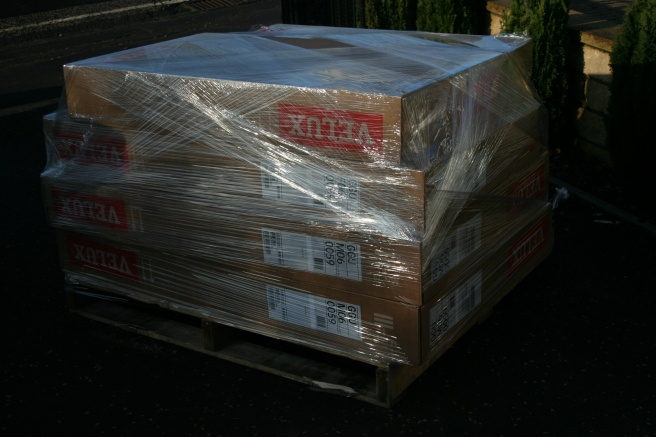 the velux windows are here