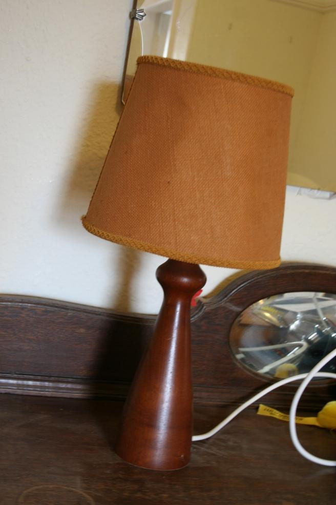 restored lamp