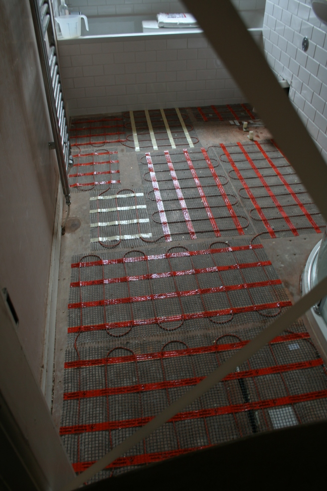 mat for underfloor heating