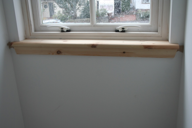 window sills looking good