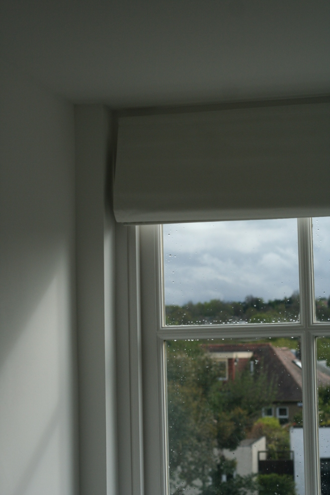 roman blinds installed