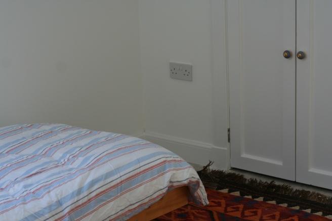 corner of F's room