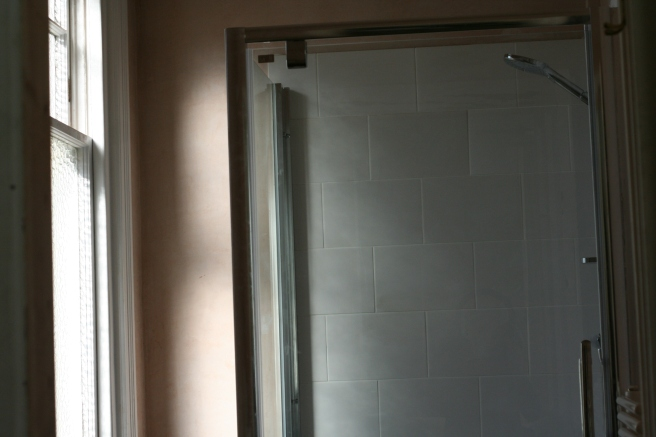 new shower and screen