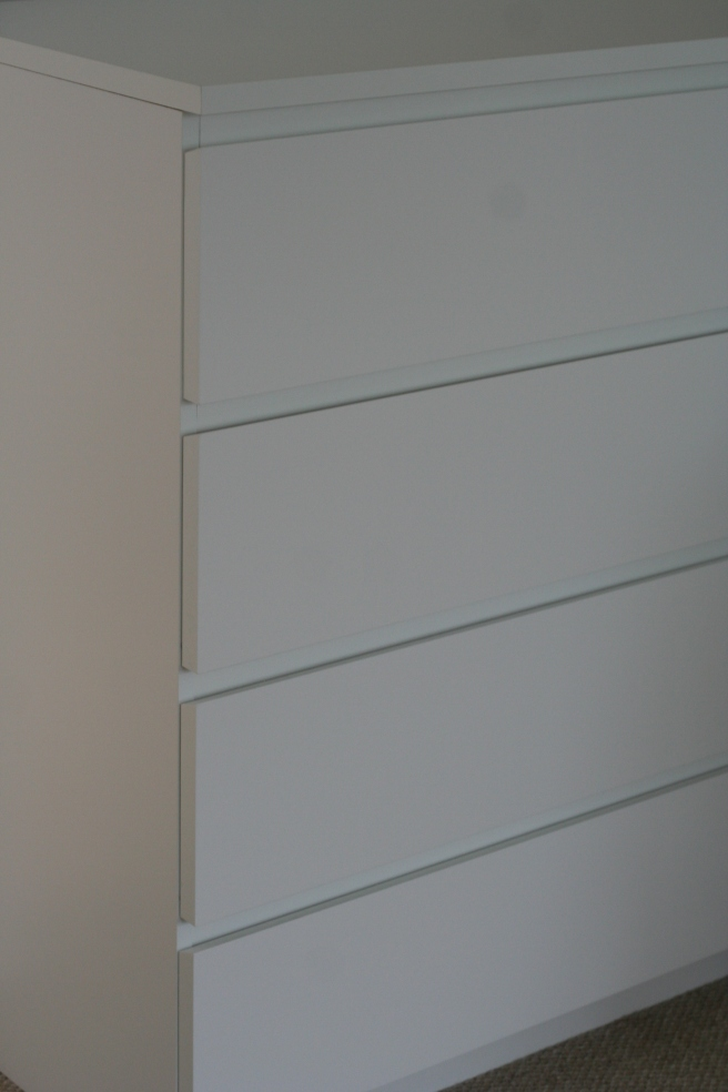 ikea malm chest of drawers. simple and unassuming