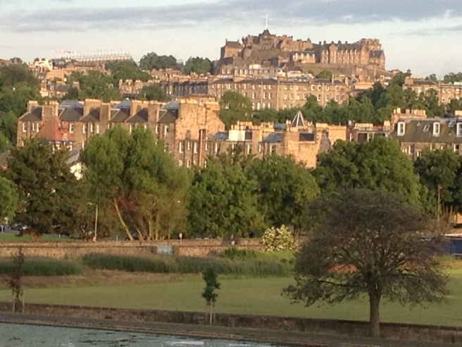 view from Inverleith at 9pm tonight