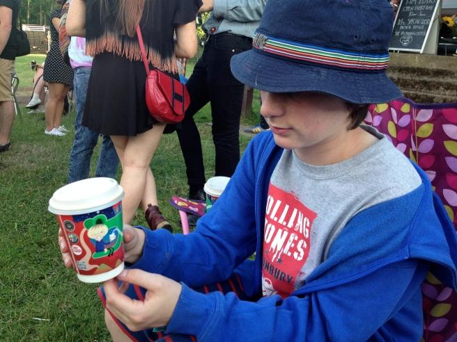 teenboy and a cuppa