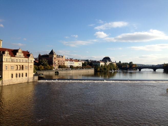 another view from Charles bridge