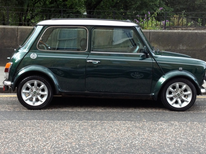 Mini Cooper, x-reg in immaculate condition.